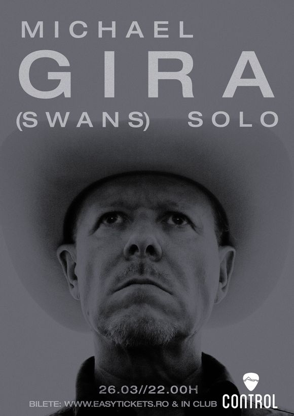 Concert Michael Gira (Swans) solo in Club Control