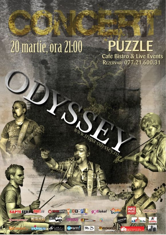 Concert Odyssey in Club Puzzle din Bucuresti