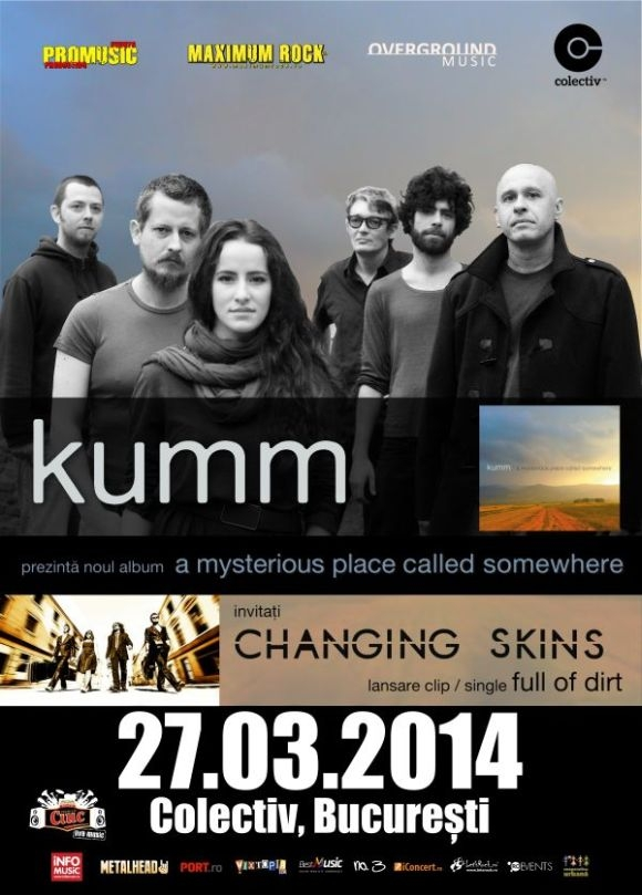Concert special Kumm si Changing Skins in Club Colectiv