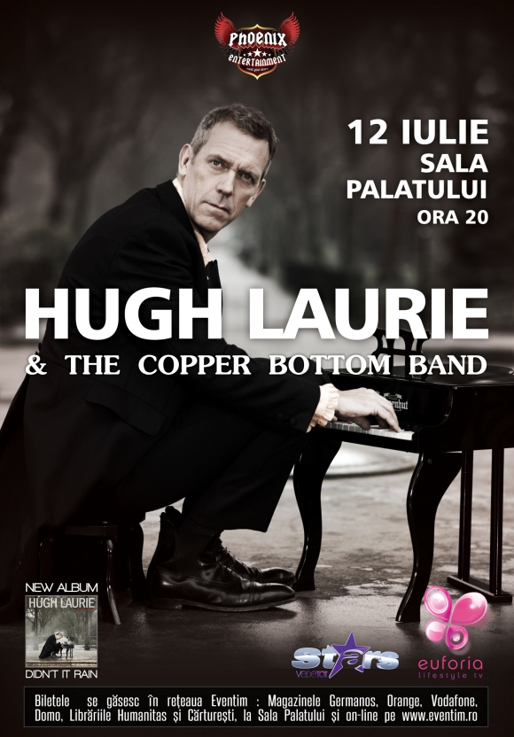 Dr House (Hugh Laurie) With The Copper Bottom Band, in premiera in Romania
