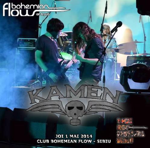 KAMEN (thrash metal/Bucuresti)