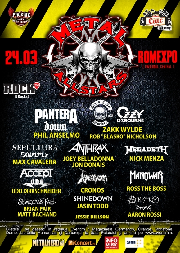 Modificari de line-up la Metal All Stars