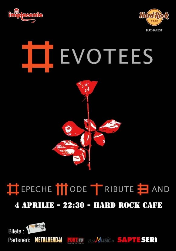 Concert Devotees - Tribut Depeche Mode la Hard Rock Cafe