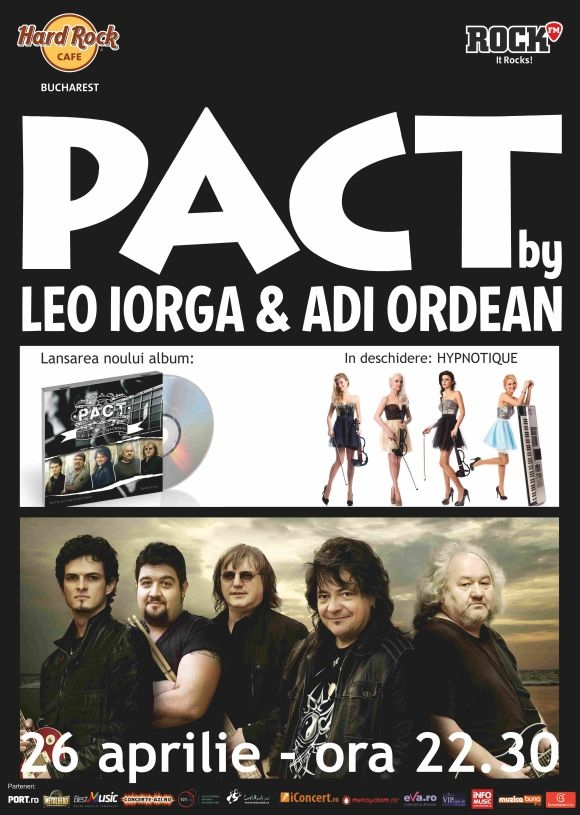 Concert Pact by Leo Iorga si Adi Ordean la Hard Rock Cafe din Bucuresti