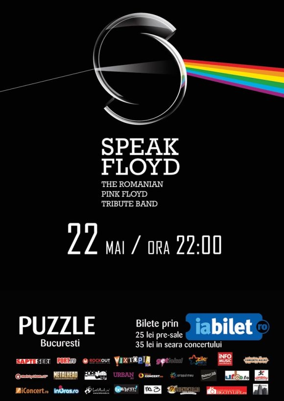Concert Speak Floyd - The Romanian Pink Floyd Tribute Band in Club Puzzle