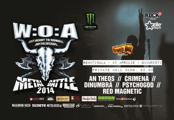 Prima semifinala Wacken Metal Battle 2014, la Bucuresti