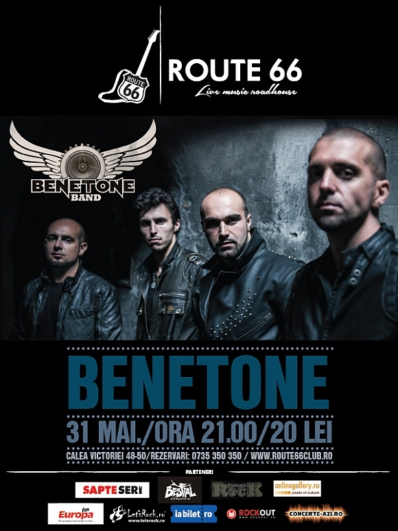 Benetone Band Live in Route 66, 31 mai 2014