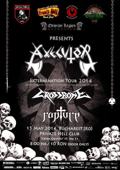 Concert Axecutor, Rapture si Crossbone in Private Hell