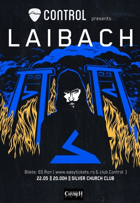 Concert Laibach in The Silver Church Club din Bucuresti