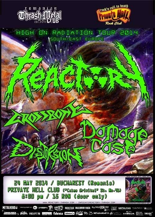Concert Reactory, Crossbone, Damage Case si Distortion in Private Hell