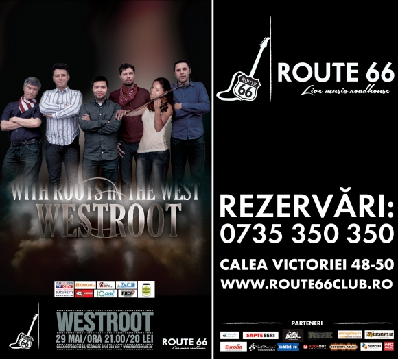 Concert Westroot in Route 66, 29 mai 2014