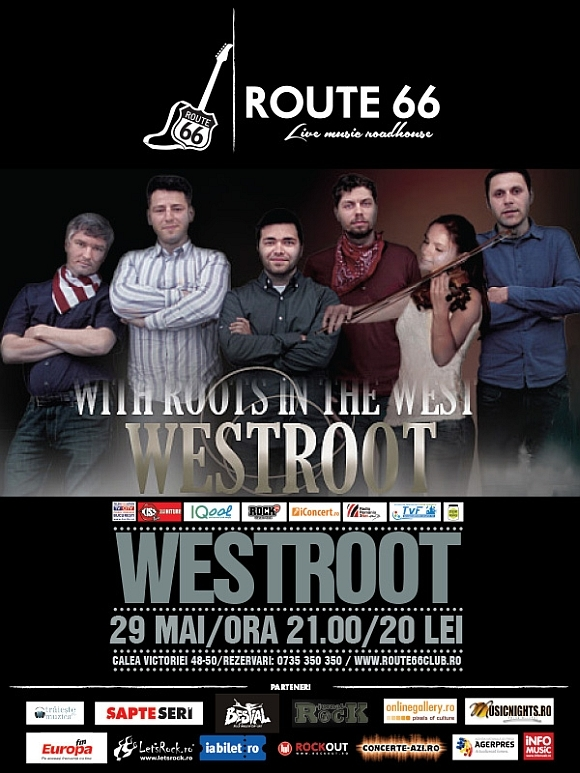 Concert Westroot in Route 66