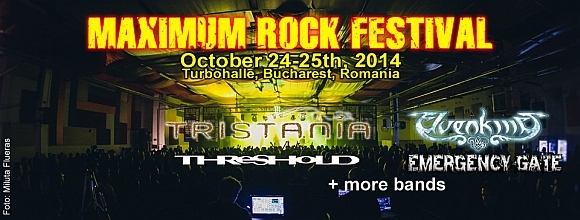 Inca doua formatii confirmate la Maximum Rock Festival 2014