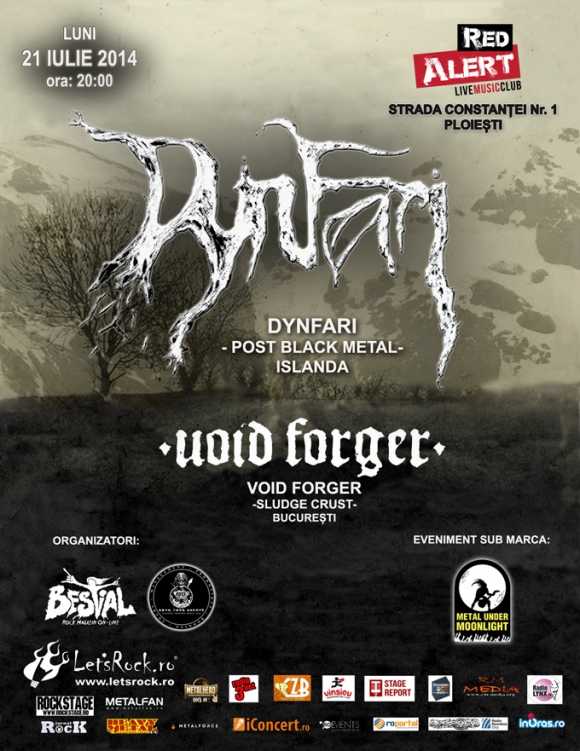 Concert in Ploiesti (Club Red Alert): Dynfari si Void Forger