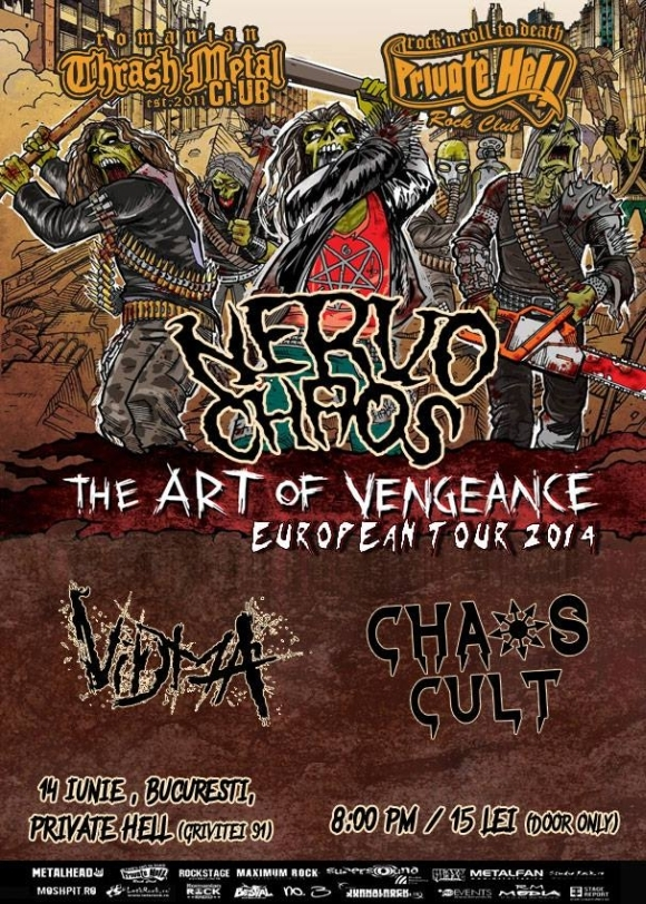 Concert Nervochaos, Vidma si Chaos Cult in Private Hell