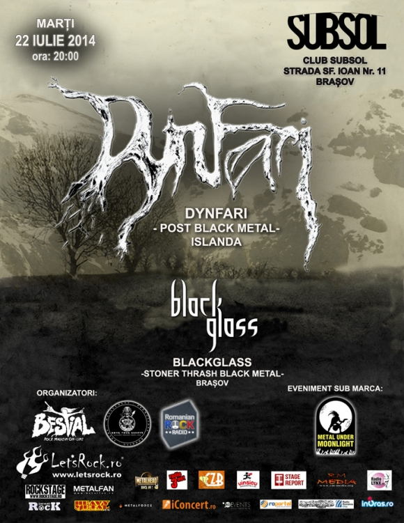 Concert in Brasov (Club Subsol): Dynfari si BlackGlass