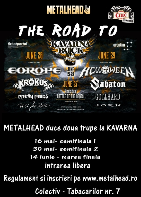 Finala The Road To Kavarna Rock in Club Fabrica