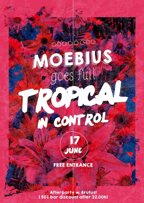 Moebius - goes full tropical in Club Control