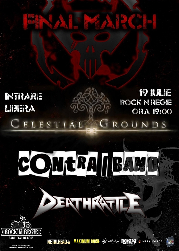 Concert Celestial Grounds, Contra | Band si Deathrattle in Rock'n Regie