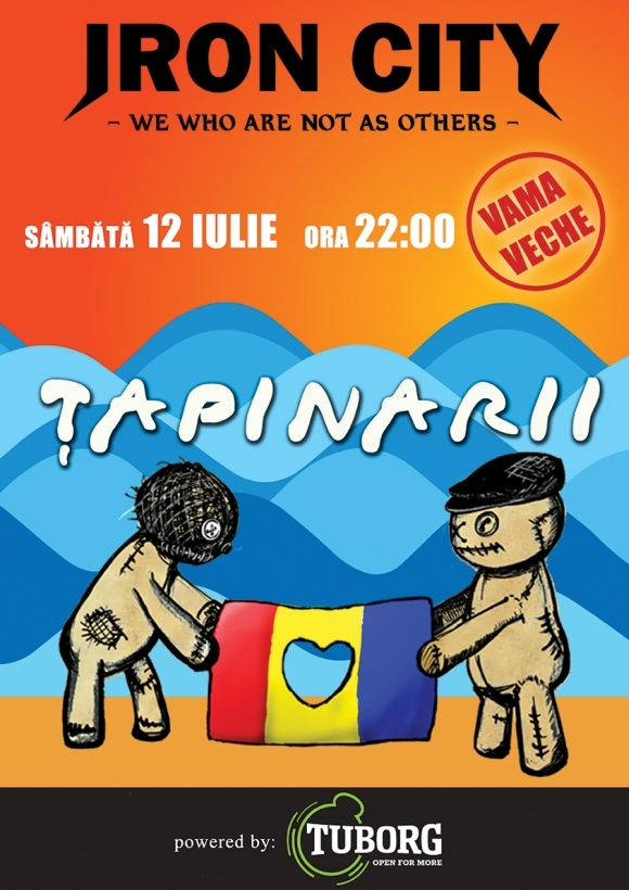 Concert Tapinarii in Iron City din Vama Veche