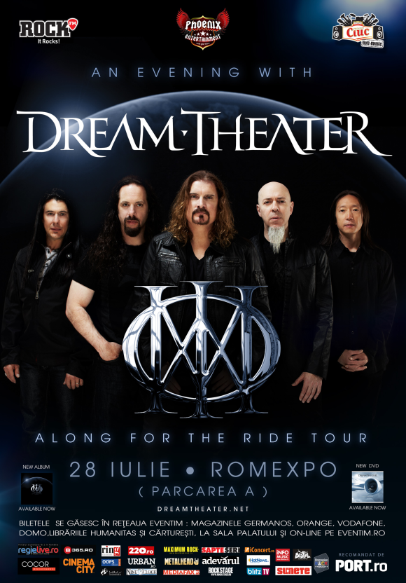 Program si reguli de acces la concertul Dream Theater de la Romexpo