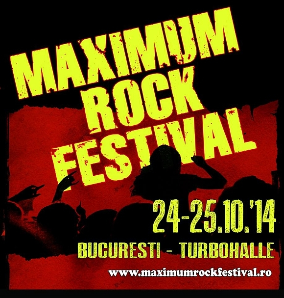 Trupele Unleashed si Code Red sunt confirmate la Maximum Rock Festival 2014