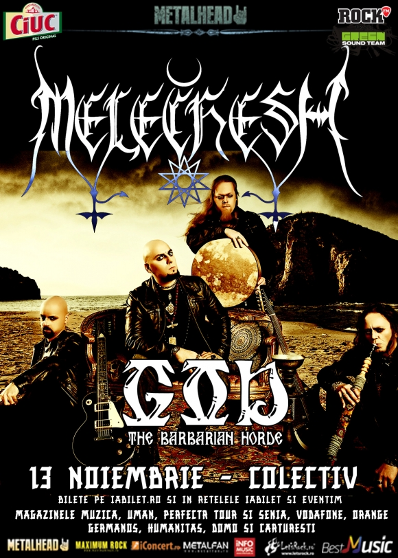 Concert Melechesh si GOD in Club Colectiv
