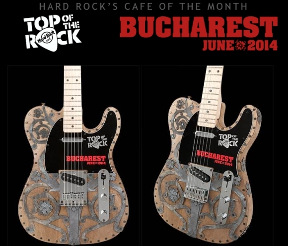 Hard Rock Cafe Bucuresti castiga iarasi Top Of The Rock