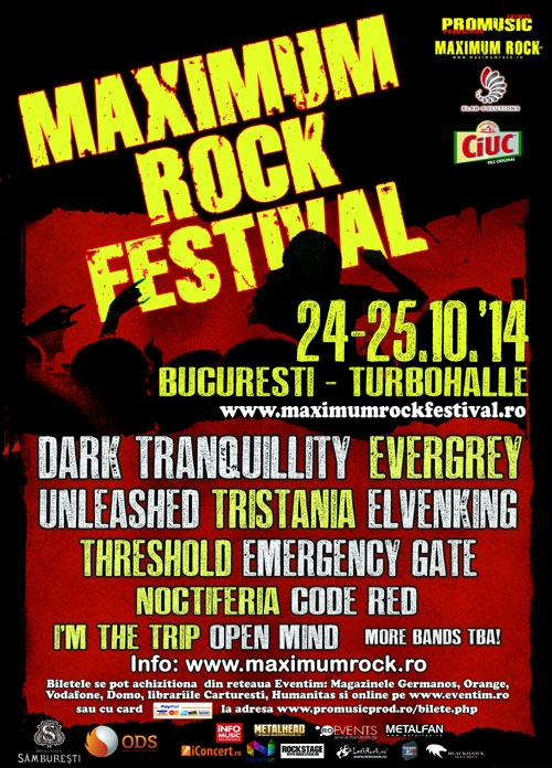 Noctiferia vor canta la Maximum Rock Festival 2014