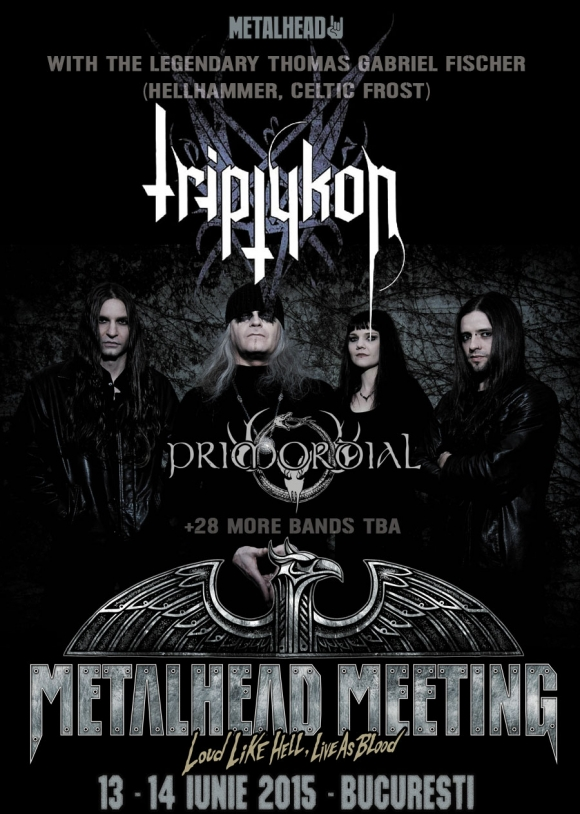 Trupa Triptykon confirmata la METALHEAD Meeting 2015