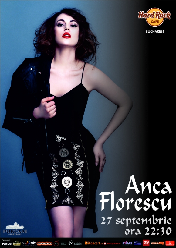 Concert Anca Florescu in Hard Rock Cafe