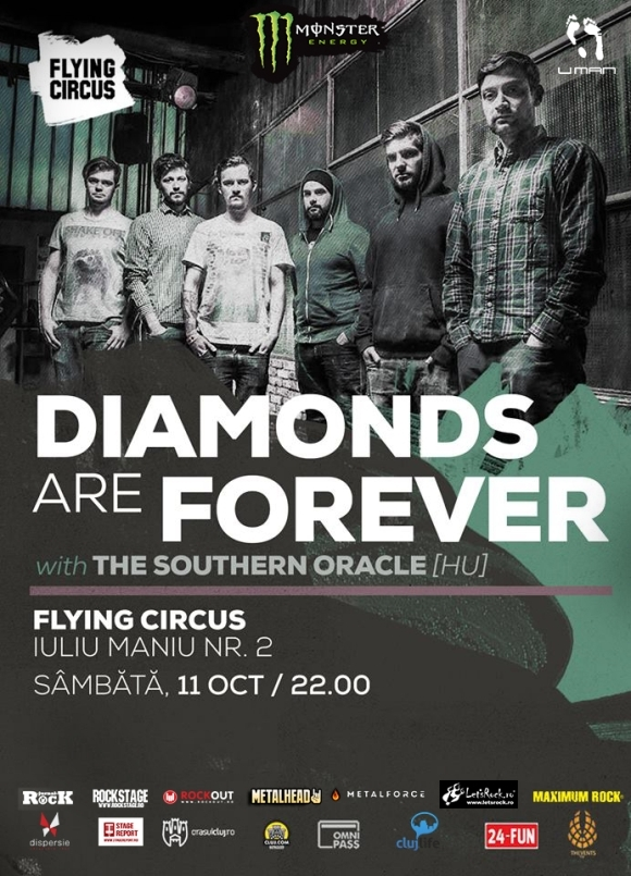Concert Diamonds Are Forever si The Southern Oracle in Flying Circus Pub