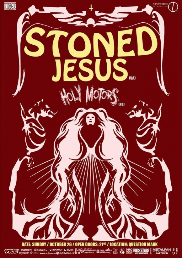 Concert Stoned Jesus si Holy Motors in Question Mark din Bucuresti