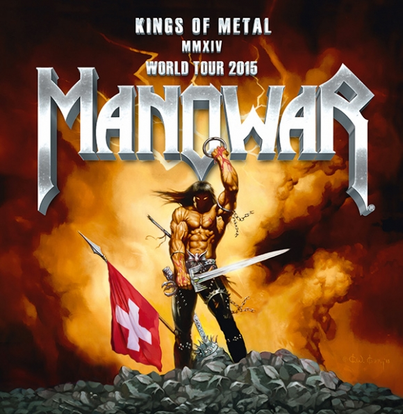 "Manowar concerteaza in Elvetia in cadrul ""Kings Of Metal MMXIV"" World Tour pe 18 ianuarie 2015"