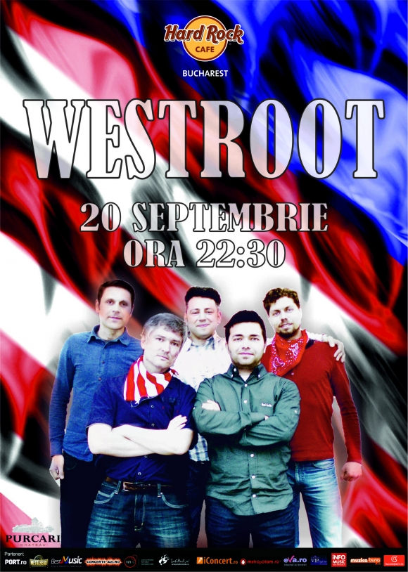 Westroot concerteaza in Hard Rock Cafe