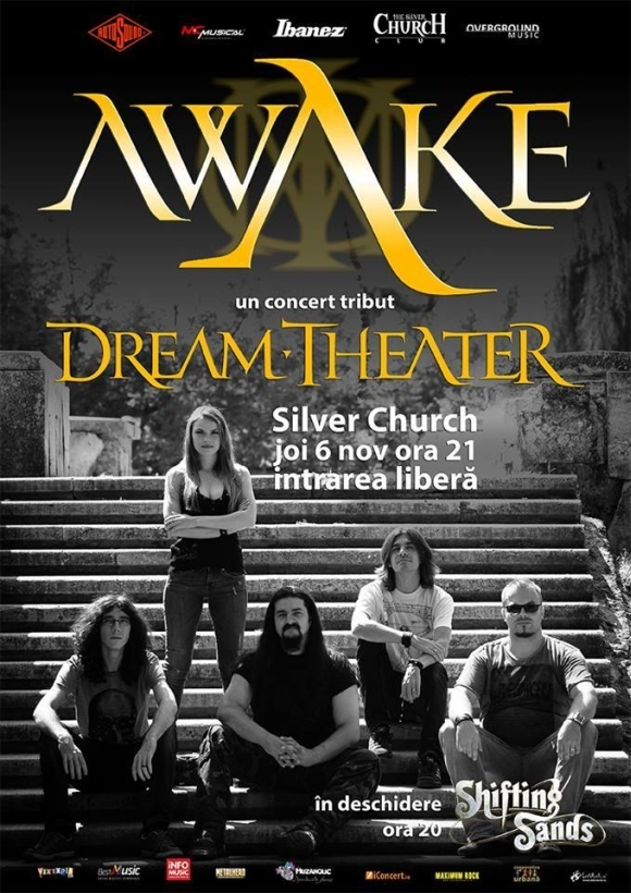 Concert Awake si Shifting Sands in Club The Silver Church