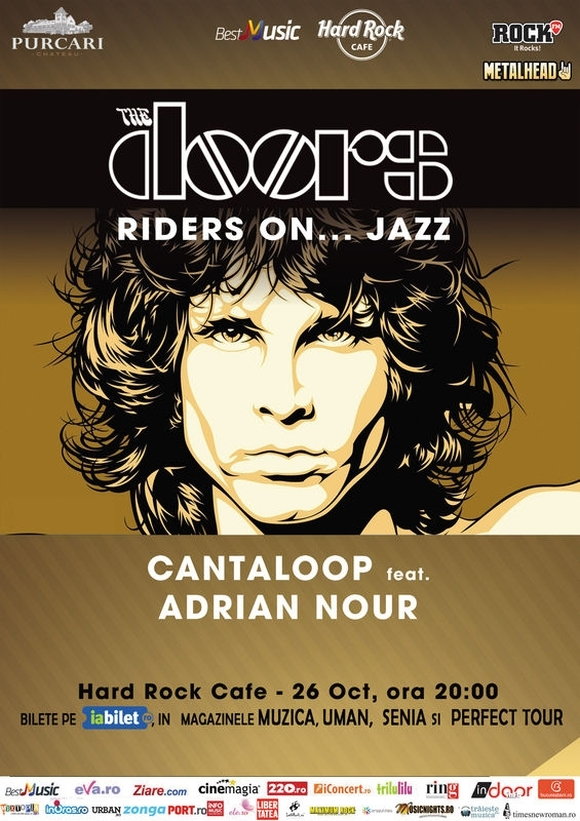 Concert Cantaloop - Riders On Jazz - The Doors Live Tribute la Hard Rock Cafe