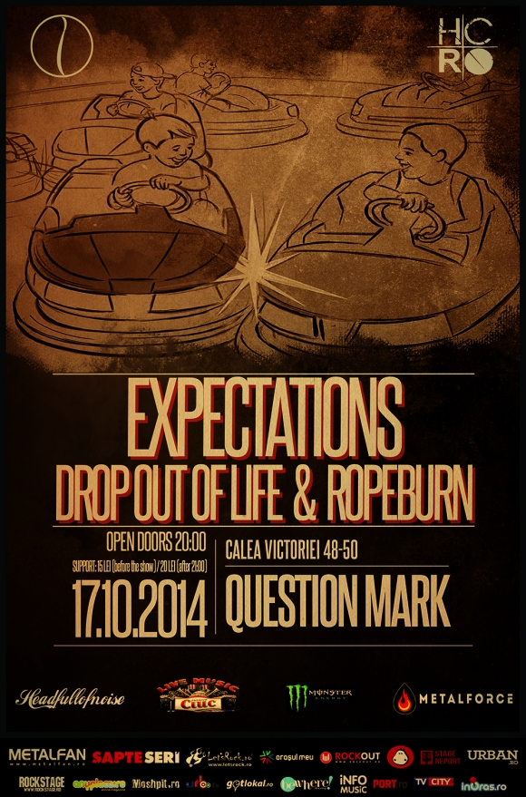 Concert Expectations (Bg) & Drop Out of Life & Ropeburn (Ro) in Question Mark
