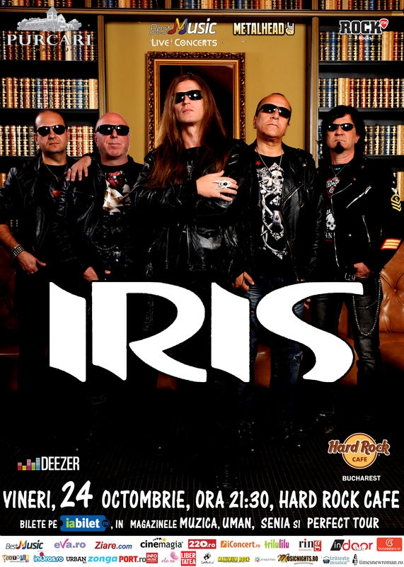 Concert Iris la Hard Rock Cafe