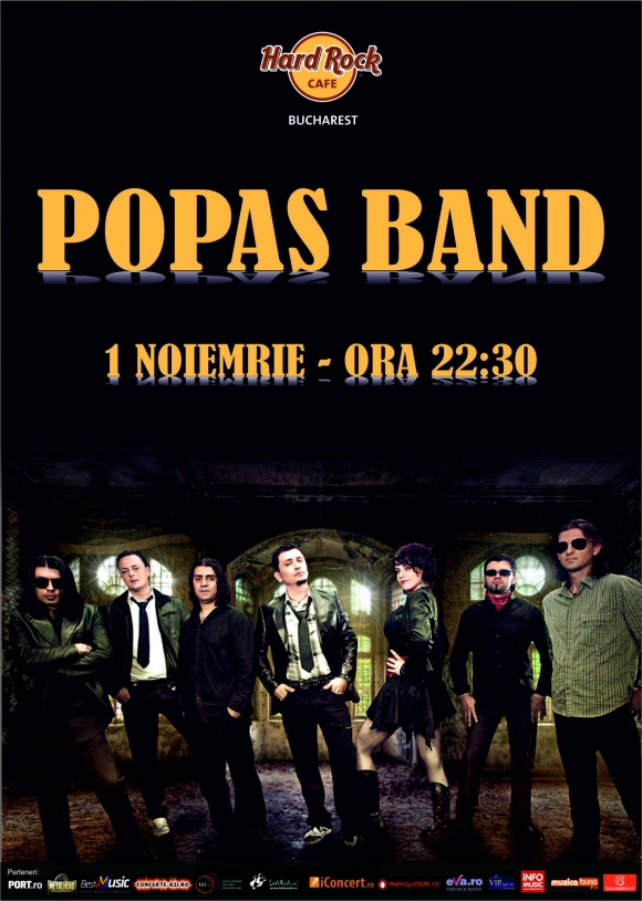 Concert Popas Band la Hard Rock Cafe