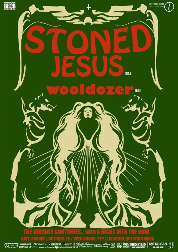 Concert Stoned Jesus si Wooldozer in Question Mark