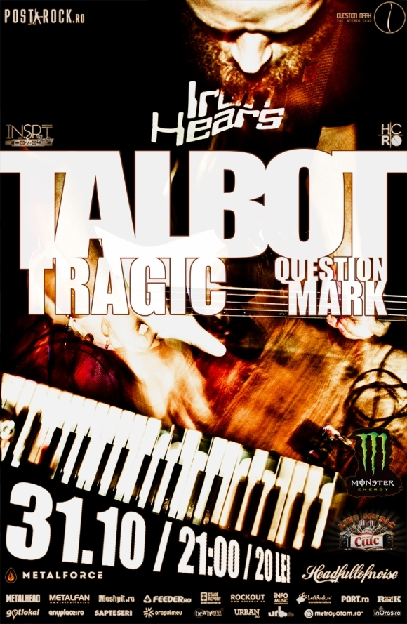 Concert Talbot si Tragic in Question Mark din Bucuresti