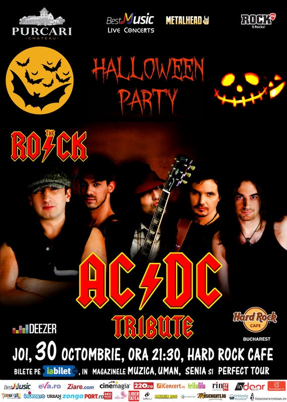 Concert The R.O.C.K. - Ac/Dc Tribut, in Hard Rock Cafe