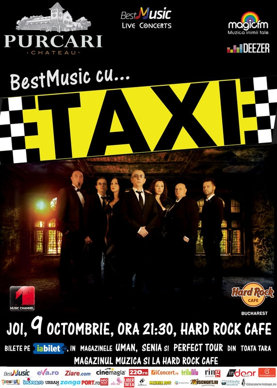 Taxi canta in Hard Rock Cafe
