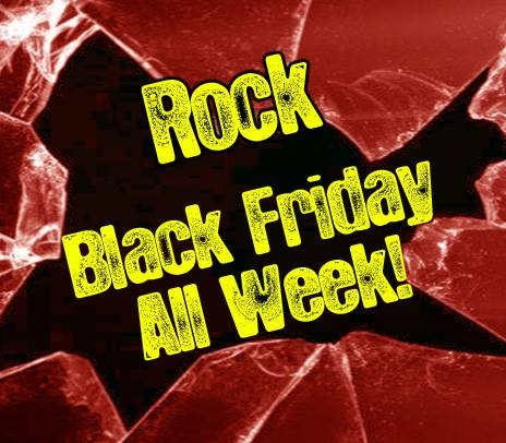 Black Friday All Week pentru rockerii romani
