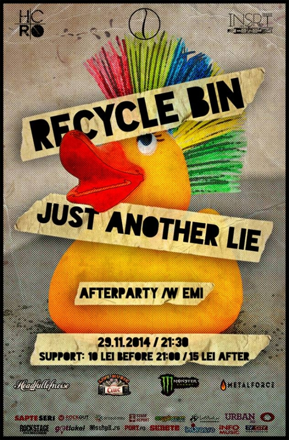 Concert Recycle Bin si Just Another Lie in Question Mark