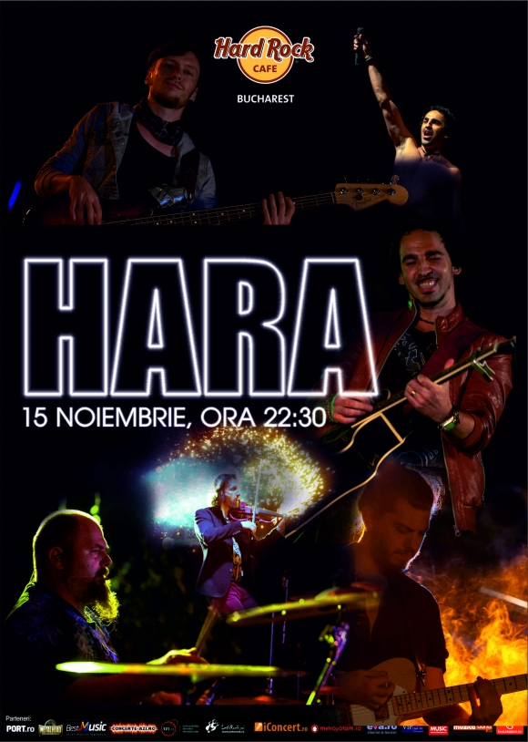 Hara concerteaza la Hard Rock Cafe