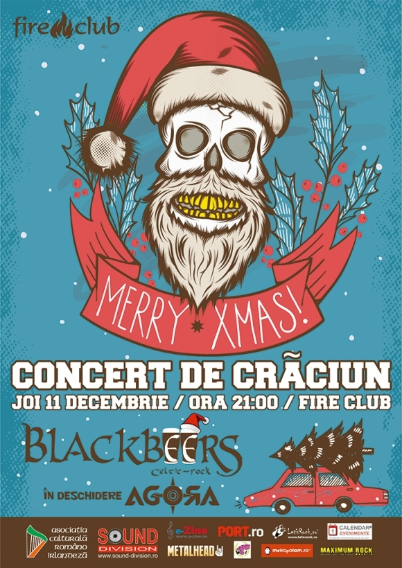 Concert de Craciun - Blackbeers si Agora la Fire Club