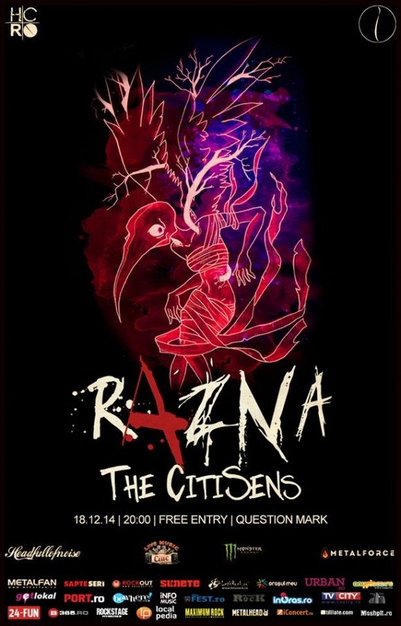 Concert Razna si The CitiSens in Question Mark