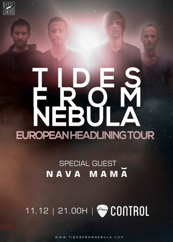 Concert Tides From Nebula si Nava Mama in Club Control